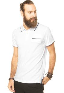Camisa Polo Timberland River Tipped Branca