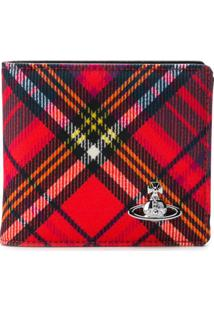Vivienne Westwood Carteira Com Logo - Vermelho