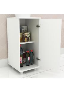 Armário De Cozinha Com Prateleira Bl3306 Branco - Tecno Mobili