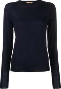 Nuur Long Sleeved Pullover - Azul