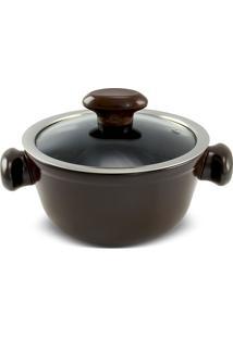 Caçarola 16Cm Chef 1 Litro-Ceraflame - Chocolate
