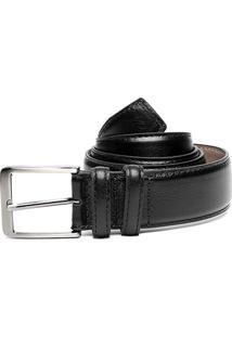 Cinto Couro Shoestock Social Masculino - Masculino