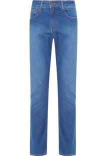 Calça Masculina Jeans Five Pockets Skinny - Azul