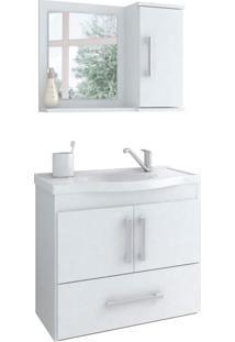 Conjunto De Banheiro Atenas Branco