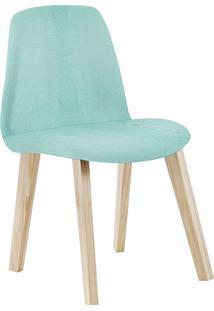 Cadeira Pinha F90 Lona – Daf Mobiliário - Verde Agua