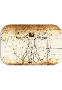 Tapete Decorativo Lar Doce Lar Da Vinci 40Cm X 60Cm Multicolorido