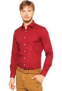 Camisa Ellus Lisa Vermelha