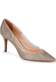 Sapato Scarpin Lara Dourado