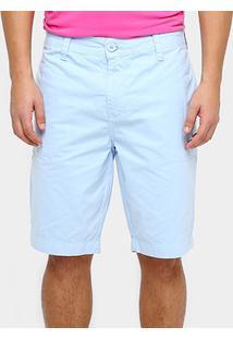 Bermuda Calvin Klein Sarja Color Reta Masculina - Masculino
