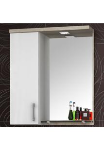 Armário De Banheiro Ecco 60Cm - Bosi Elare