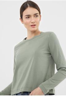 Blusa Dzarm Lisa Verde