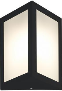 Arandela Triangular Preto Casah