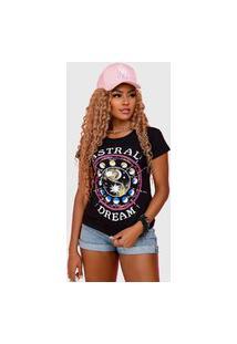 T-Shirt Astral Preto