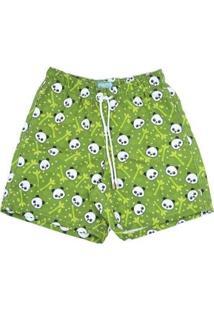 Short Bidoo Panda Masculino - Masculino-Verde
