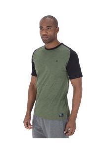 Camiseta Hurley Especial Advance - Masculina - Verde Escuro