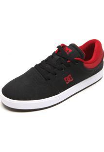 Tênis Dc Shoes Crisis Tx La Preto/Vermelho