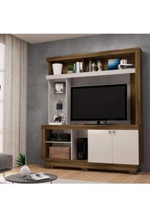 Estante Home Para Tv Até 50 Polegadas 2 Portas Valença Colibri Móveis
