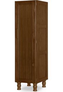 Guarda-Roupa Closet Modulado Zeus 1 Pt Imbuia