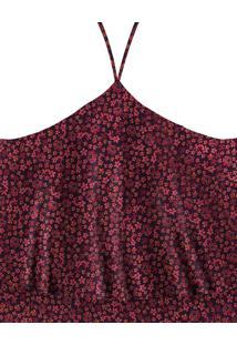 Blusa Com Alças Cropped Tecido Moss Campion - Lez A Lez