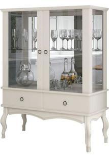 Cristaleira Vintage Luis Xv Off White