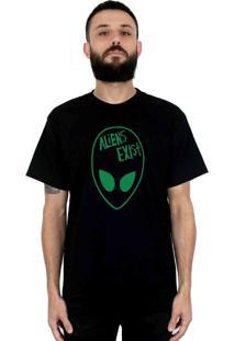 Camiseta 182Life Aliens Exist Preta