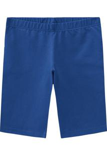 Bermuda Azul Escuro Cotton Malwee