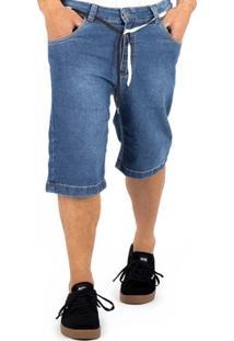 Bermuda Alfa Jeans Pro Model Gui Zolin Travel - Masculino