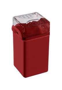Saleiro / Pimenteiro Casual 5 X 4 X 8 Cm Vermelho Bold Coza