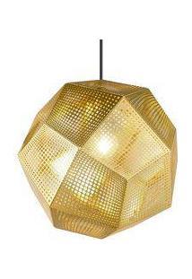 Luminária Tom Dixon Etch - Dourado