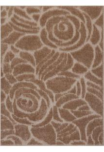 Tapete Jazz Floral- Bege & Bege Claro- 250X200Cmoasis