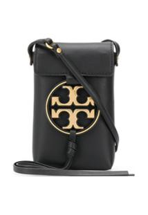 Tory Burch T-Medallion Crossbody Bag - Preto