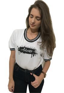 Camiseta Advance Clothing College Deluxe Branco - Branco - Feminino - Algodã£O - Dafiti