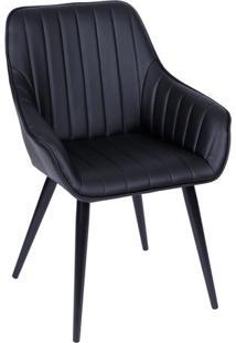 Cadeira Florenã§A- Preta- 84X60X41,5Cm- Or Designor Design