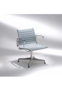 Cadeira Ea107 Com Braços Base Em Alumínio Studio Mais Design By Charles E Ray Eames