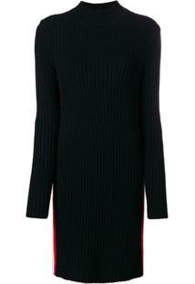 Calvin Klein 205W39Nyc Vestido Polo Slim - Preto