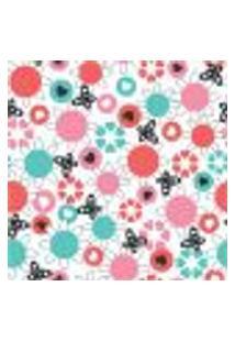Papel De Parede Autocolante Rolo 0,58 X 5M - Floral 1317