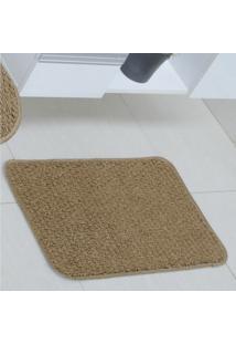 Tapete Para Banheiro Slim Polipropileno Astra 60Cmx40Cm - Caixa Com 3 Unidade - Terracota