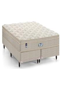 Cama Box Casal Majesty Completo D31 Intermediário 138X188Cm