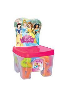 Educa Kids Banquinho Lider Princesas Multicolorido