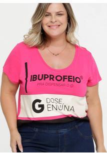 Blusa Feminina Estampada Plus Size Carnaval Marisa