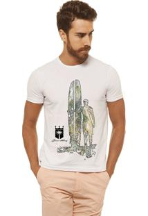 Camiseta Joss - Homem Prancha - Masculina - Masculino-Branco