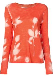 Proenza Schouler Blusa De Jersey Estampada - Vermelho
