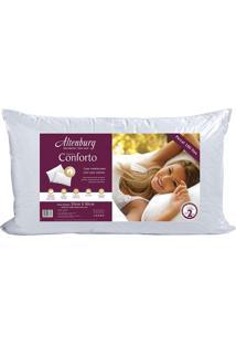 Travesseiro Conforto- Branco- 90X50Cmaltenburg