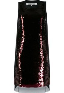 Mcq Alexander Mcqueen Shift Dress - Preto
