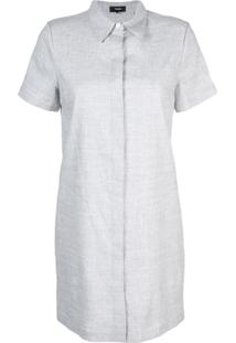 Theory Chemise Clássica - Cinza