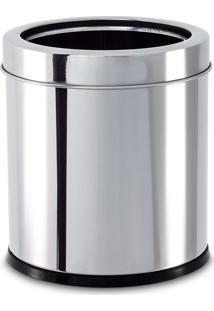 Lixeira Inox Com Aro 3,2 Litros