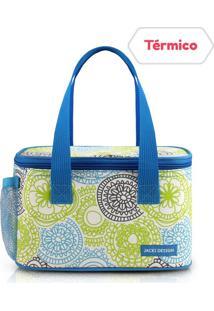 Bolsa Térmica Azul E Verde - Jacki Design