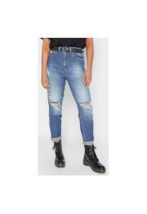Calça Jeans Colcci Slim Bruna Azul