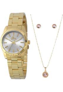 ... Relógio Allora Al2035Ezq K4K Al2035Ezq K4K - Feminino-Dourado cb99c3e658