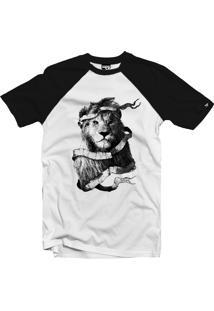 Camiseta Raglan The Garage Custom Tees The King